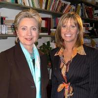Lynn Doyle with Senator Hillary Clinton