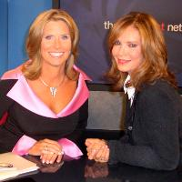 Lynn Doyle and Jaclyn Smith