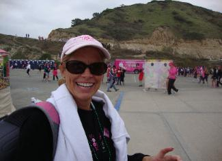 Lynn Doyle at San Diego 3-Day Walk 2010